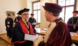 Prof. James Sanford Rikoon, PhD., Doctor Honoris Causa in Management and Environmental Sociology