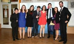 Českobudějovická pobočka AIESEC získala významná ocenění