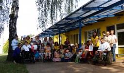Studenti EF podpořili handicapované děti
