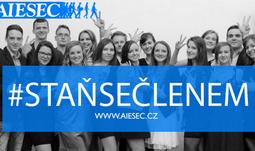Staňte se členy AIESEC České Budějovice