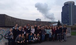 Studenti EF navštívili v rámci studijní cesty rakouský Linec