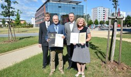 Guvernér státu Missouri ocenil spolupráci s Jihočeskou univerzitou