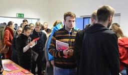 Den otevřených dveří na Ekonomické fakultě Jihočeské univerzity v Českých Budějovicích