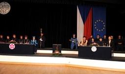 Inaugurace děkanky doc. Dr. Ing. Dagmar Škodové Parmové