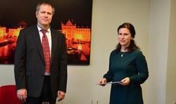 Novou děkankou Ekonomické fakulty Jihočeské univerzity je doc. Dr. Ing. Dagmar Škodová Parmová