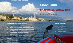 Začněte léto u moře! POSLEDNÍ VOLNÁ MÍSTA na studijní cestu do Chorvatska