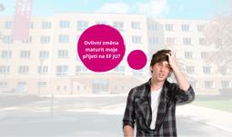 Změna maturity neovlivní vaše studium na Ekonomické fakultě