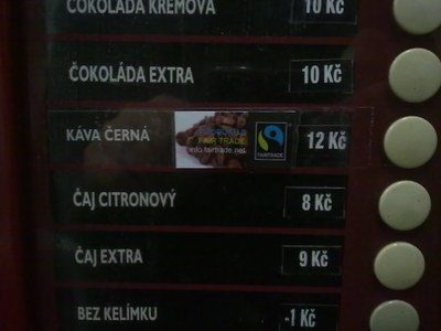 Nápojový automat budova A