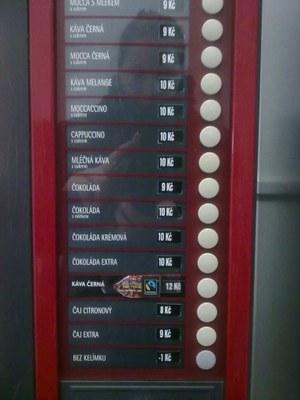 Nápojový automat F1