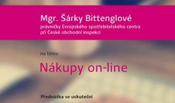 Nákupy on-line PŘEDNÁŠKA UŽ DNES!!!