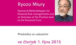 Přednáška profesora Ryozo Miury (Sendai University)
