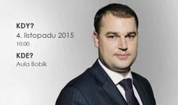 Viceguvernér ČNB Mojmír Hampl na EF: Bankovní unie a Česká republika