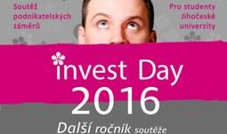 Přihlášky do soutěže Invest Day 2016