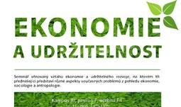 Seminář ekonomie udržitelnosti