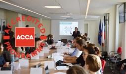 "Workshop Davida Kopeckého z ACCA ""Business Game"""